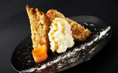Au Nouveau Monde carrot cake